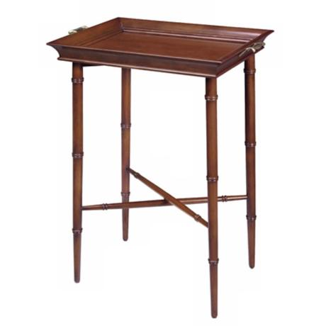 Picadilly Cherry Serving Tray Table
