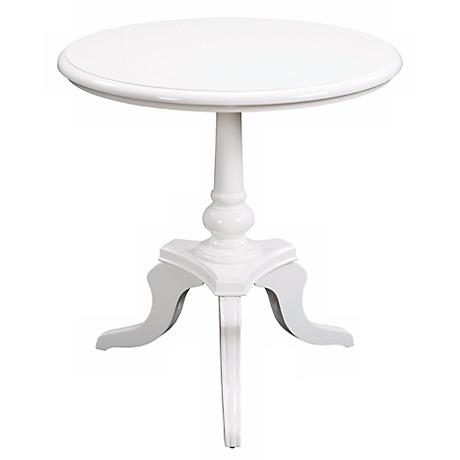 White Chapel Accent Table