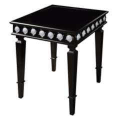 Mirage Ebony Side Table