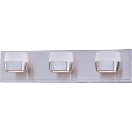 "ET2 Ellipse 21"" Wide Satin Nickel Bath Vanity Fixture"