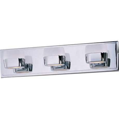 "ET2 Ellipse 21"" Wide Polished Chrome Bath Vanity Fixture"