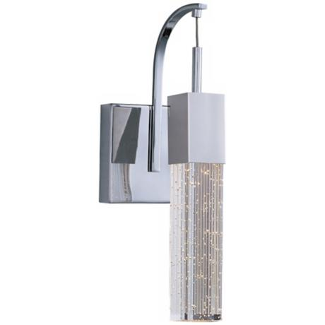 "ET2 Fizz Polished Chrome 14 1/2"" High Wall Sconce"