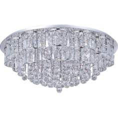 "ET2 Bangle Chrome 31 1/2"" Wide Flush Mount Ceiling Fixture"