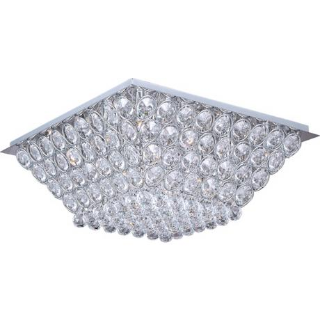 "ET2 Brilliant Chrome 24 1/2"" Wide Flush Mount Ceiling Light"