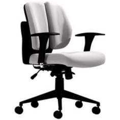 Zuo Aqua White Polyurethane Office Chair