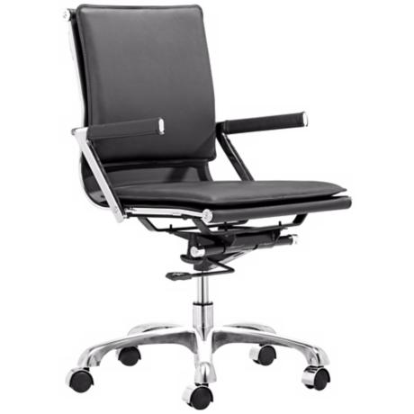 Zuo Lider Plus Black Office Chair