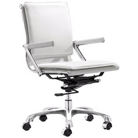 Zuo Lider Plus White Office Chair