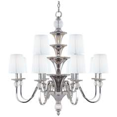 "Metropolitan Aise Collection 2 Tier 33"" Wide Chandelier"