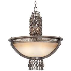 "Metropolitan Ajourer Collection 27"" Wide Bowl Chandelier"