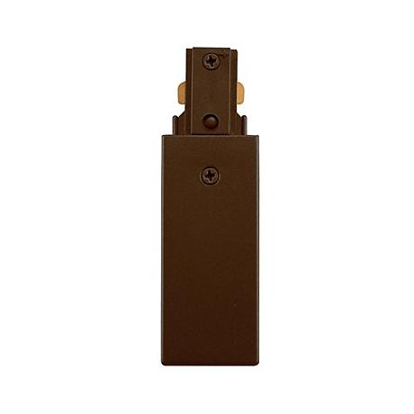 Halo Compatible Bronze Live End Feed For Track Lighting T2696