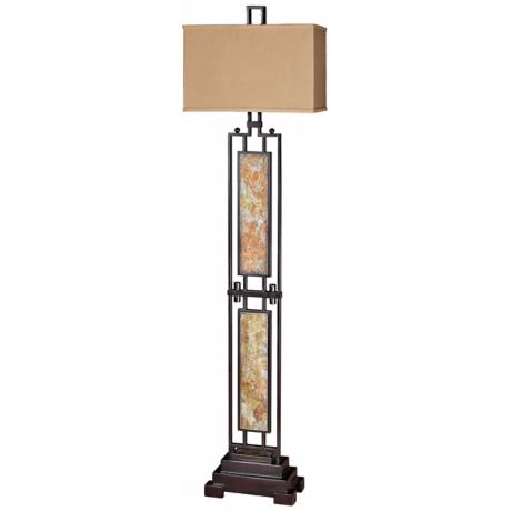 Uttermost Suspended Slate Floor Lamp