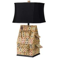 Horizon House of Cards Table Lamp