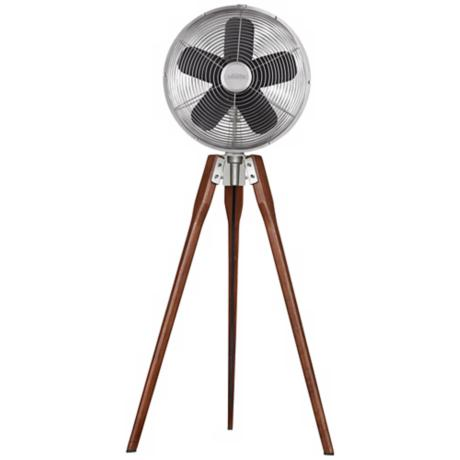 Fanimation Arden Satin Nickel Tripod Floor Fan