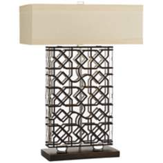 Horizon Kinston Solid Crystal Table Lamp