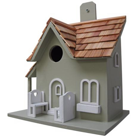 Little Retreat Green Birdhouse