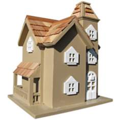 Little Manor Taupe Birdhouse