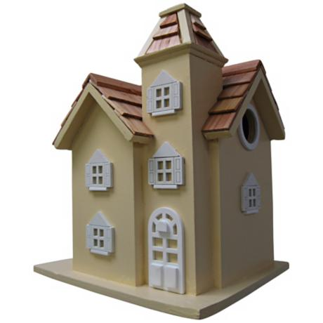 Little Manor Yellow Birdhouse