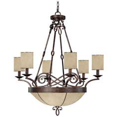 "Reserve Collection 32"" Wide Pendant Chandelier"