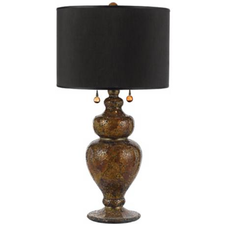 Horizon Mosaic Glass Hand-Crafted Table Lamp
