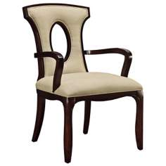 Blakemore Ecru Linen Arm Chair