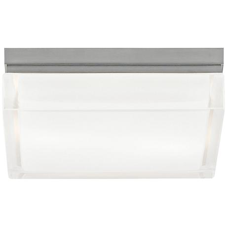 "Tech Lighting Boxie 9""W LED Frost Glass Ceiling Light"