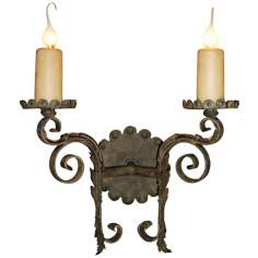 "Laura Lee Cortona 2-Light 16"" Wide Wall Sconce"