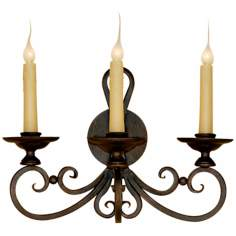 "Laura Lee Laguna 3-Light 20"" Wide Wall Sconce"