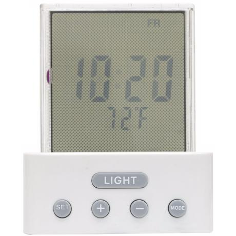Time and Temperature LCD Night Light
