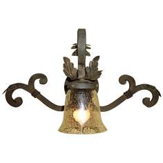 "Laura Lee Verona Single Light 22"" Wide Wall Sconce"