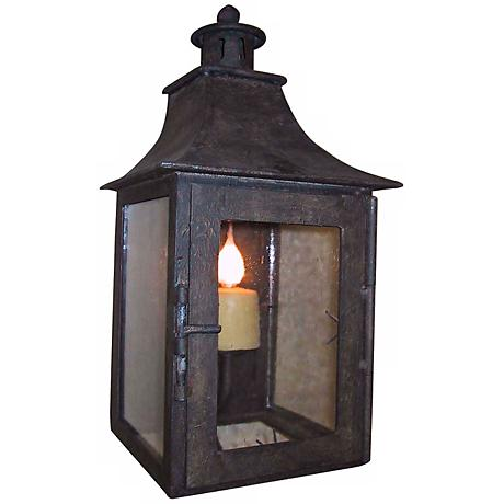 "Laura Lee Half 18"" High Wall Lantern"