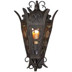"Laura Lee Amsterdam Small 21"" High Outdoor Wall Lantern"