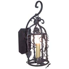 "Laura Lee Birdcage 19"" High Wall Sconce"
