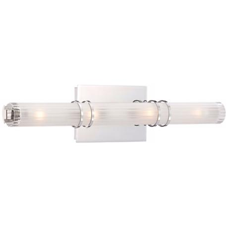"George Kovacs Rings Collection 21"" Wide Bath Wall Light"