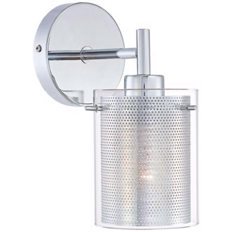 "George Kovacs Grid II 9 3/4"" High Wall Sconce"