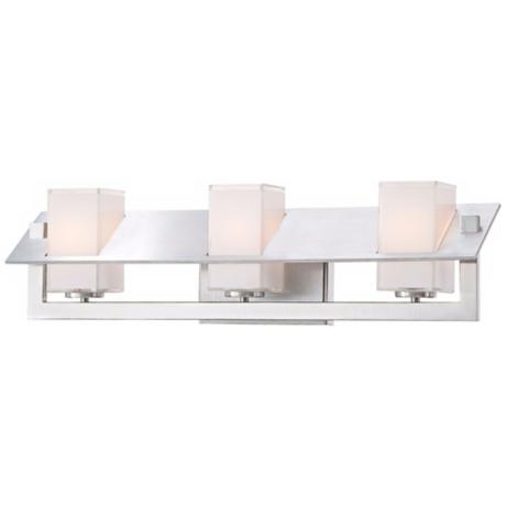 "George Kovacs Tilt Collection 22"" Wide Wall Bath Light."
