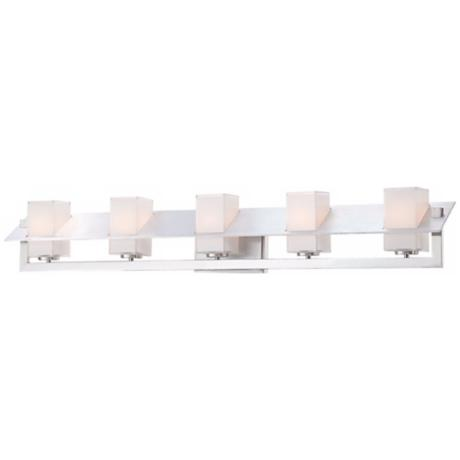 "George Kovacs Tilt Collection 37 3/4"" Wide Bath Wall Light"