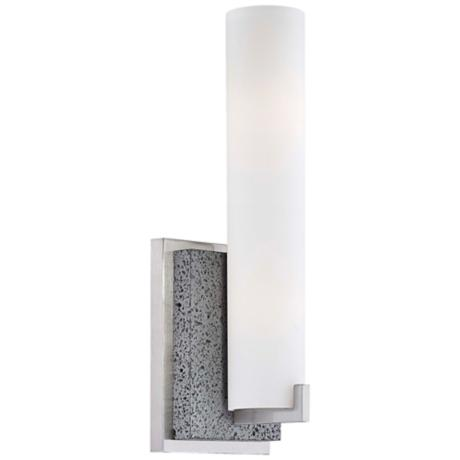 "George Kovacs Lava Tube Collection 13 1/4"" High Wall Sconce"