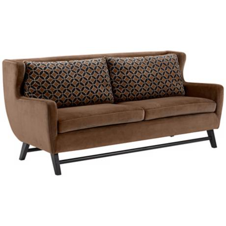 Midtown Chocolate Java Sofa