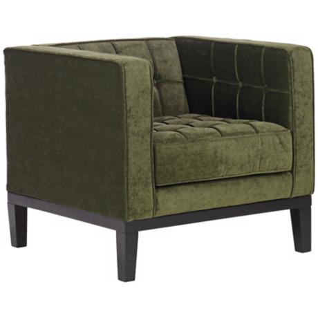 Roxbury Green Chenille Club Chair