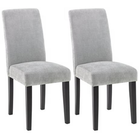 Set of Two Versa Dining Chairs-Lagoon