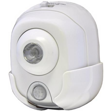 High Output Motion Activated White Security Light