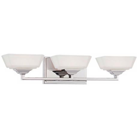 "George Kovacs Clean 23 3/4"" Wide Bath Wall Light"