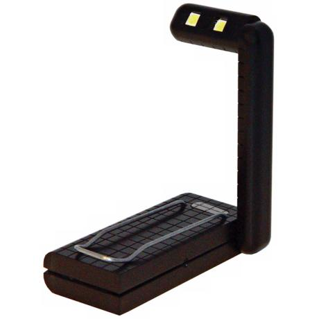 "Black 2 LED 3"" High Book Light"