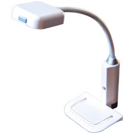 High Output White Finish E Reader Light