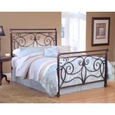Hillsdale Brady Antique Bronze Bed