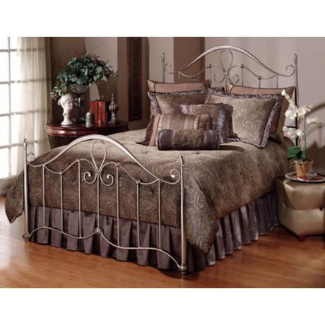 Hillsdale Doheny Antique Pewter Bed