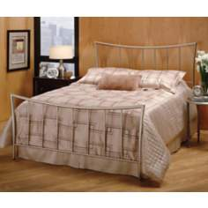 Hillsdale Eva Nickel Bed