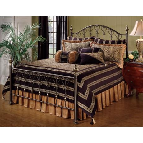 Hillsdale Huntley Dusty Bronze Bed