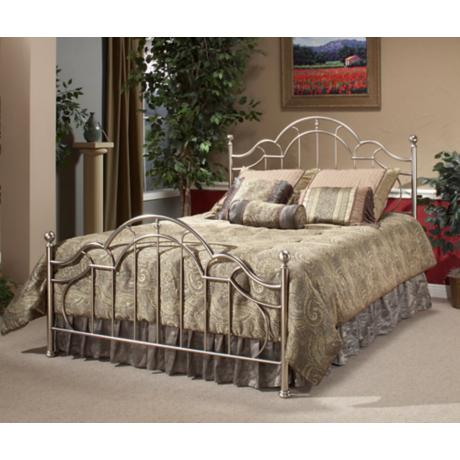 Hillsdale Mableton Antique Pewter Bed