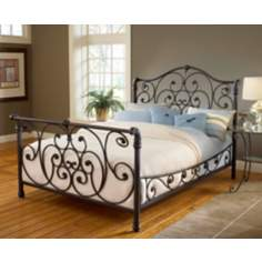 Hillsdale Mandalay Rustic Brown Bed